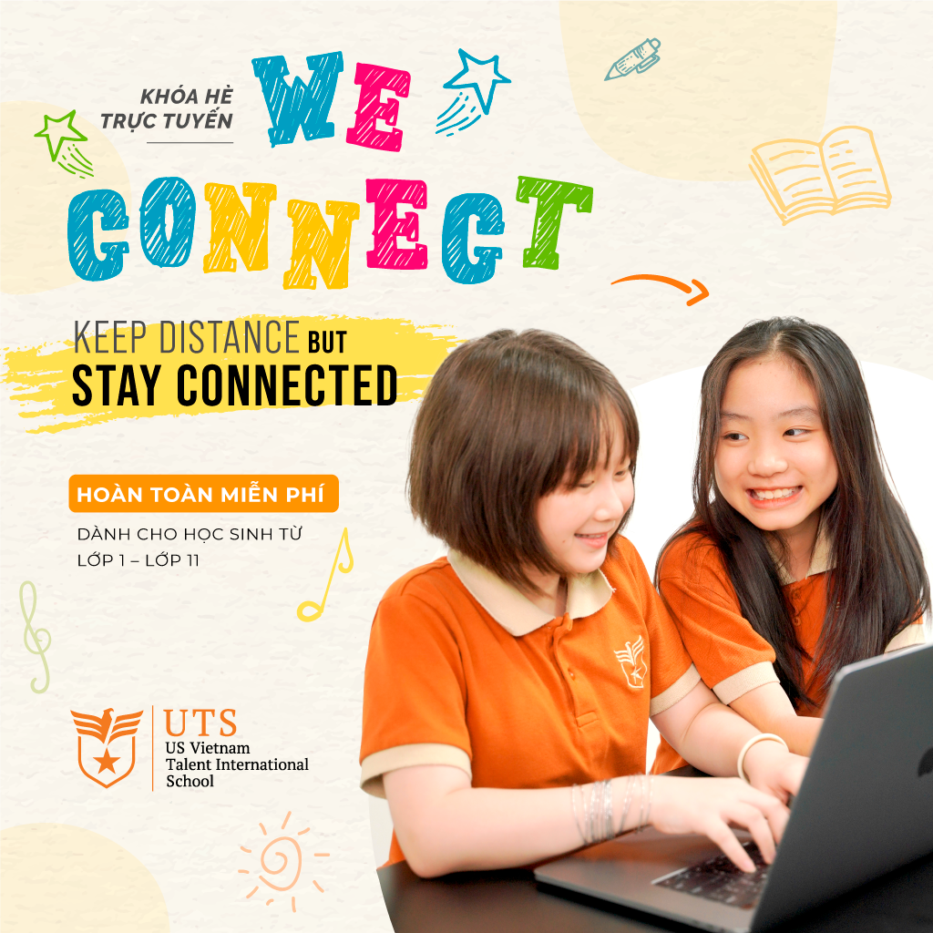 """""""WE CONNECT"""" SUMMER PROGRAM: ENJOY A SAFE AND MEANINGFUL SUMMER WITH UTS"""