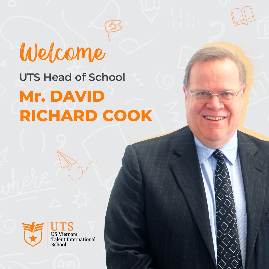 [UTS] GIỚI THIỆU TỔNG HIỆU TRƯỞNG – THẦY DAVID RICHARD COOK